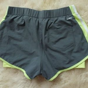 Adidas running shorts with woven shorts